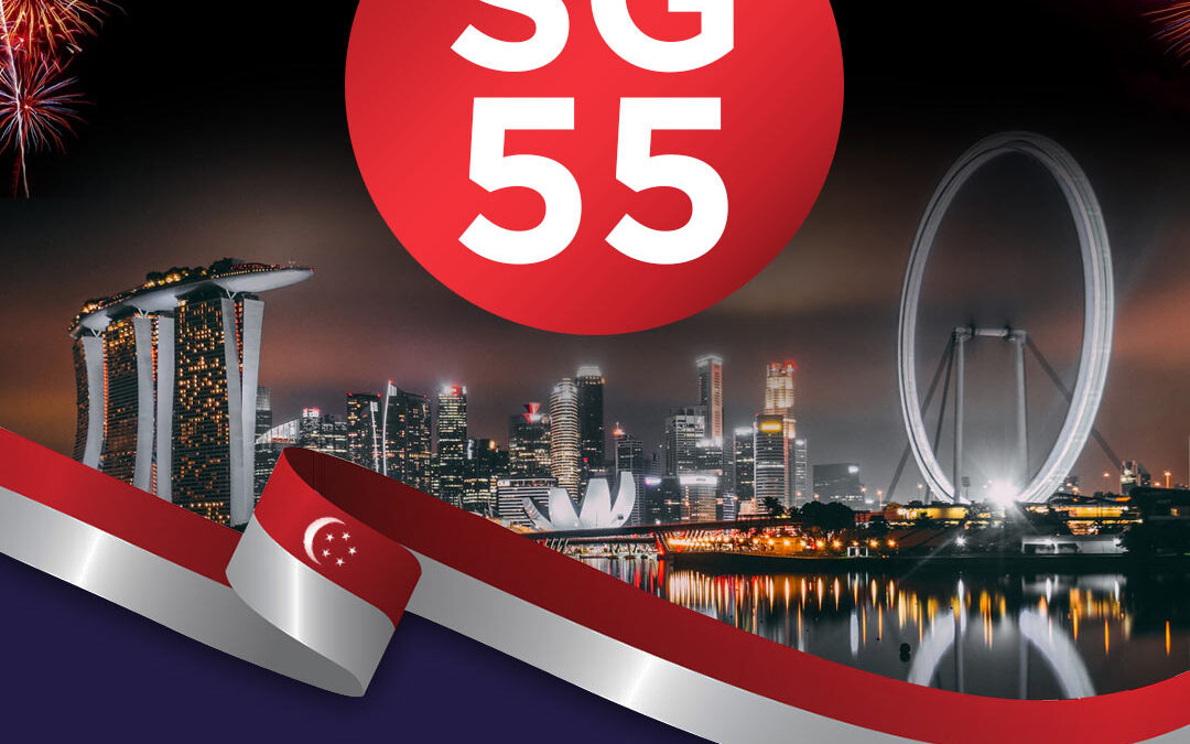 Singapore's 55th Natinal Day Celebrations in Covid-19
